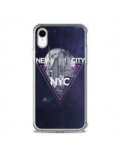 Coque iPhone XR New York City Triangle Rose - Javier Martinez