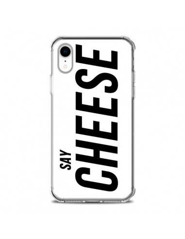 Coque iPhone XR Say Cheese Smile...
