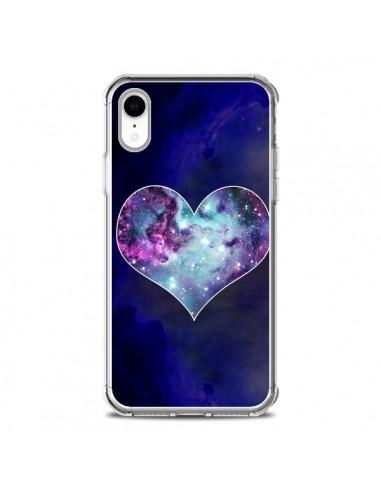 Coque iPhone XR Nebula Heart Coeur...