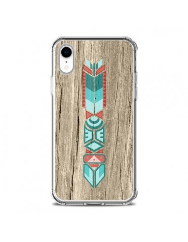 Coque iPhone XR Totem Tribal Azteque...