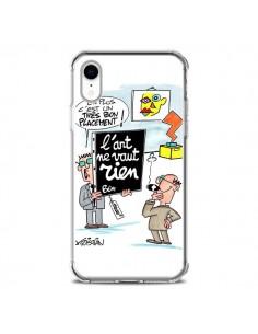 Coque iPhone XR L'art ne vaut rien - Kristian