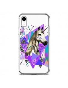 Coque iPhone XR Licorne Unicorn Azteque - Kris Tate