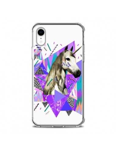 Coque iPhone XR Licorne Unicorn Azteque - Kris Tate