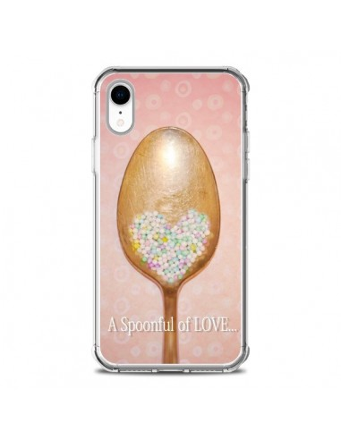 Coque iPhone XR Cuillère Love - Lisa...
