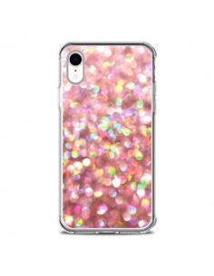 Coque iPhone XR Paillettes Pinkalicious - Lisa Argyropoulos