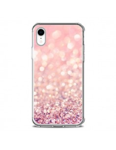 Coque iPhone XR Paillettes Blush - Lisa Argyropoulos