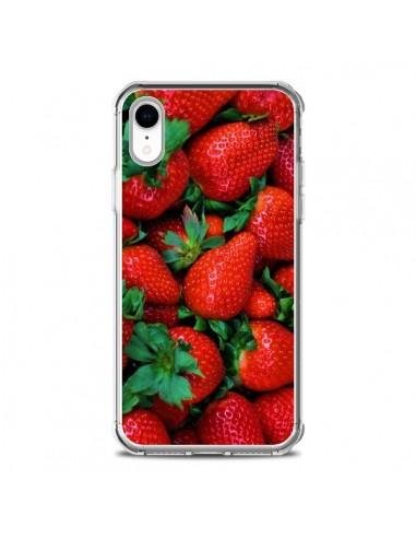 Coque iPhone XR Fraise Strawberry Fruit - Laetitia