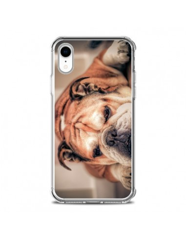 Coque iPhone XR Chien Bulldog Dog -...