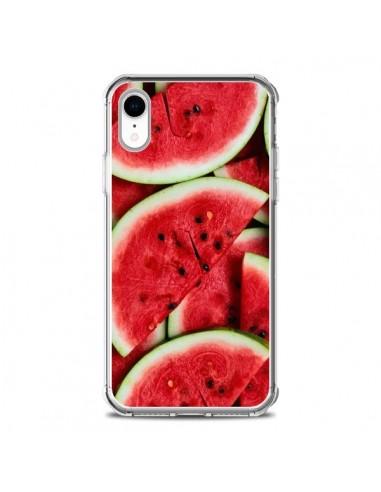 Coque iPhone XR Pastèque Watermelon...
