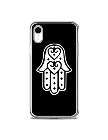 Coque iPhone XR Main de Fatma Oeil...