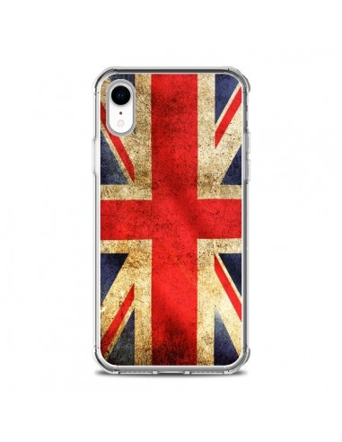 Coque iPhone XR Drapeau Angleterre Anglais UK - Laetitia