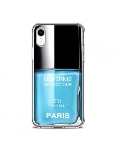 Coque iPhone XR Vernis Paris Coco...