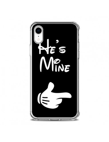 Coque iPhone XR He's Mine Il est à Moi Amour Amoureux - Laetitia