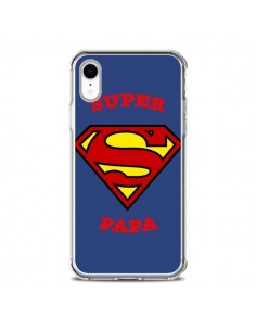 Coque iPhone XR Super Papa Superman - Laetitia