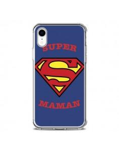 Coque iPhone XR Super Maman Superman - Laetitia