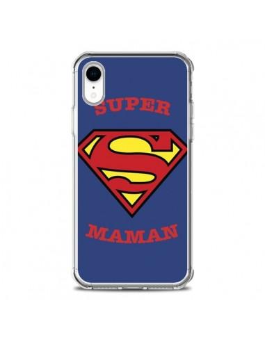 Coque iPhone XR Super Maman Superman...