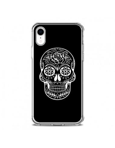 Coque iPhone XR Tête de Mort...