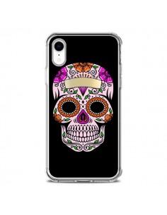 Coque iPhone XR Tête de Mort Mexicaine Multicolore - Laetitia