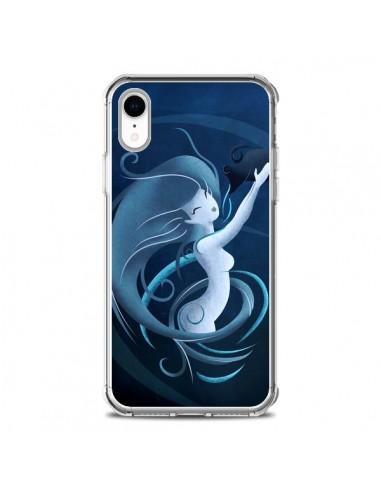 Coque iPhone XR Aquarius Girl La...