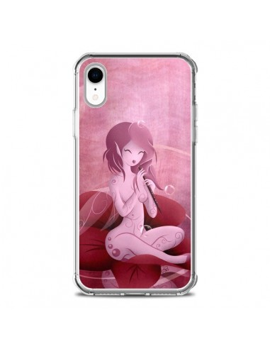 Coque iPhone XR Melody Elves Elfe -...