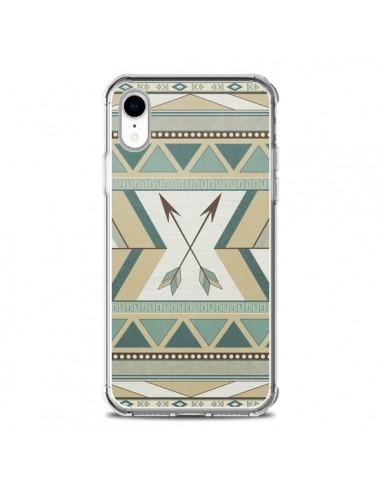 Coque iPhone XR Aztec Pattern Arrows Fleche Azteque Tribal - LouJah