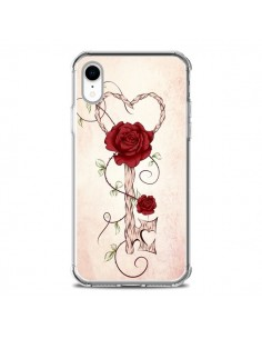 Coque iPhone XR Key of Love Clef Amour - LouJah