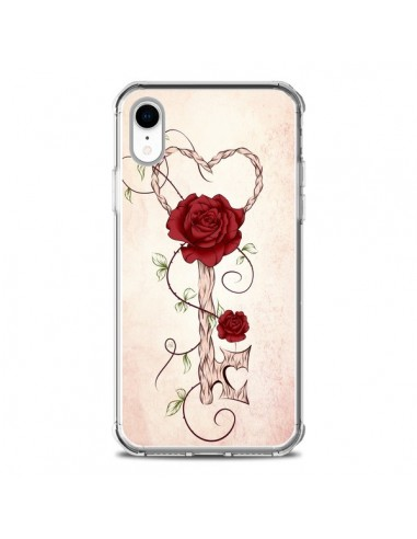 Coque iPhone XR Key of Love Clef...