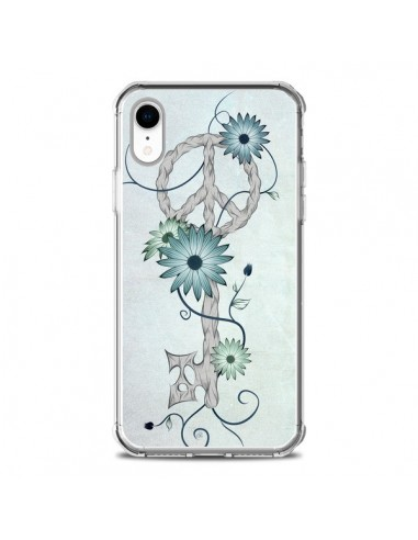 Coque iPhone XR Key to Peace Clef...