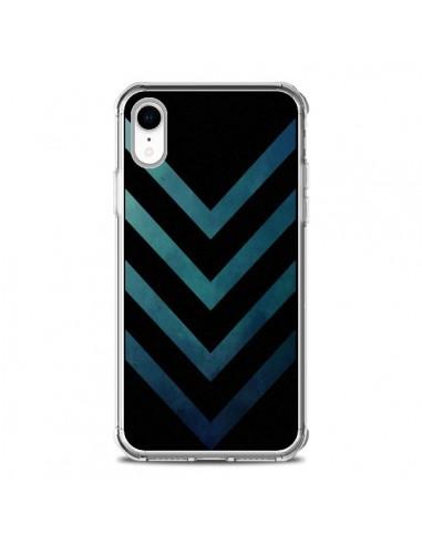 Coque iPhone XR Blue Black Arrow...