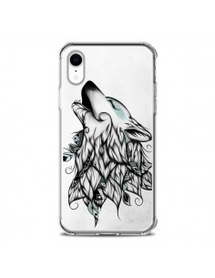 Coque iPhone XR The Wolf Loup Noir - LouJah