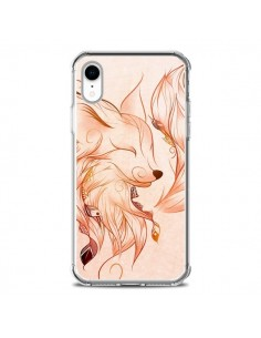 Coque iPhone XR Fox Renard Rouge - LouJah