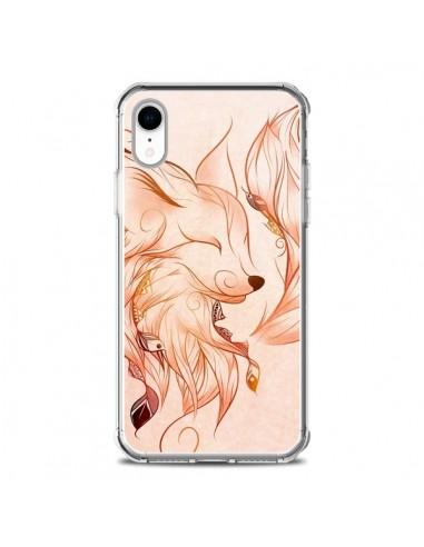 Coque iPhone XR Fox Renard Rouge -...