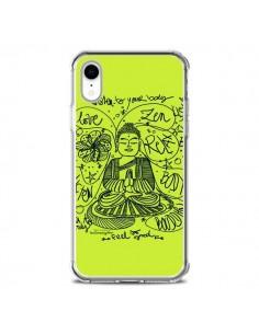 Coque iPhone XR Buddha Listen to your body Love Zen Relax - Leellouebrigitte
