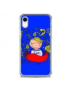 Coque iPhone XR Love Fille - Leellouebrigitte