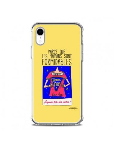 Coque iPhone XR Parce que les mamans...