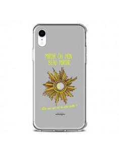 Coque iPhone XR Miroir Qui est la plus belle - Leellouebrigitte
