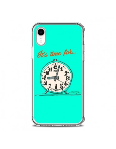Coque iPhone XR It's time for -...