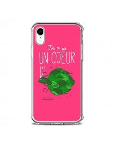 Coque iPhone XR Toi tu as un coeur d'artichaut - Leellouebrigitte