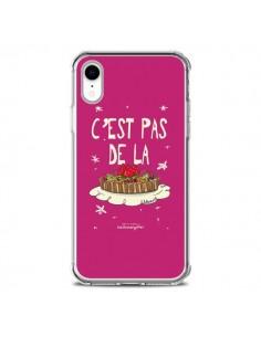 Coque iPhone XR C'est pas de la tarte - Leellouebrigitte