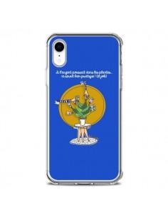 Coque iPhone XR L'argent ne pousse pas dans les plantes - Leellouebrigitte