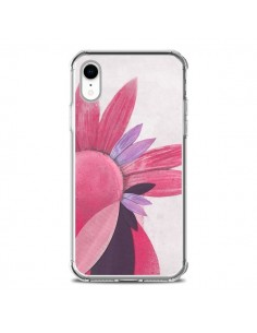 Coque iPhone XR Flowers Fleurs Roses - Lassana