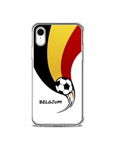 Coque iPhone XR Equipe Belgique Belgium Football - Madotta
