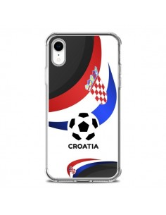Coque iPhone XR Equipe Croatie Football - Madotta