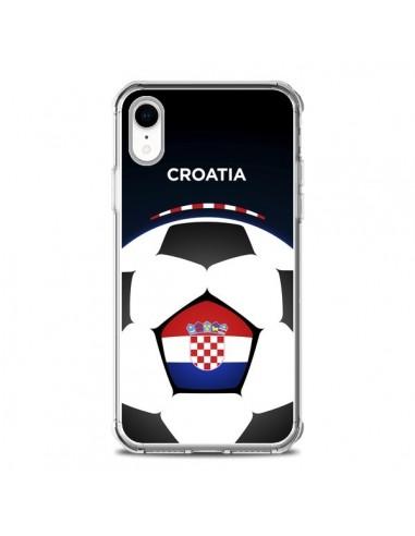 Coque iPhone XR Croatie Ballon Football - Madotta