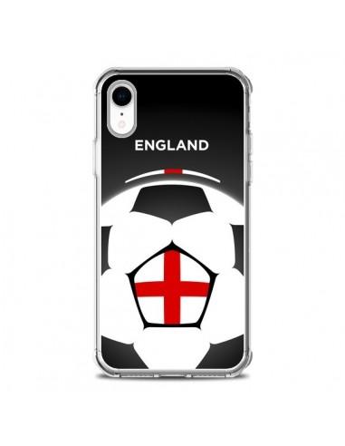 Coque iPhone XR Angleterre Ballon...