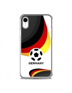 Coque iPhone XR Equipe Allemagne Football - Madotta