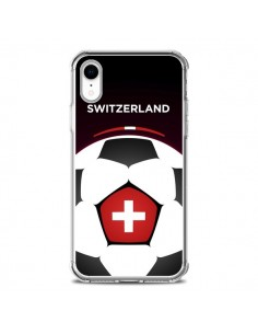 Coque iPhone XR Suisse Ballon Football - Madotta