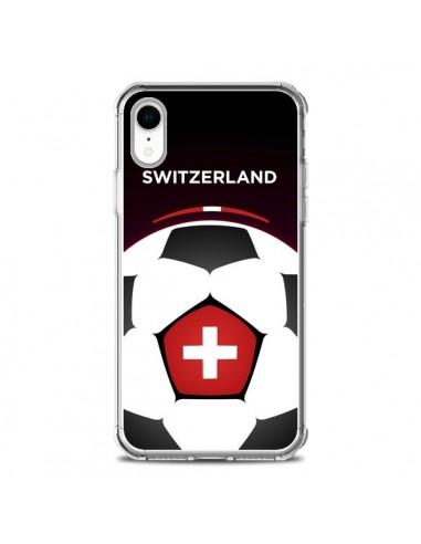 Coque iPhone XR Suisse Ballon...