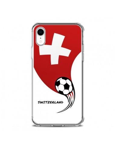 Coque iPhone XR Equipe Suisse...