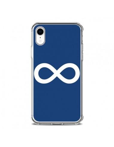 Coque iPhone XR Infini Navy Blue...